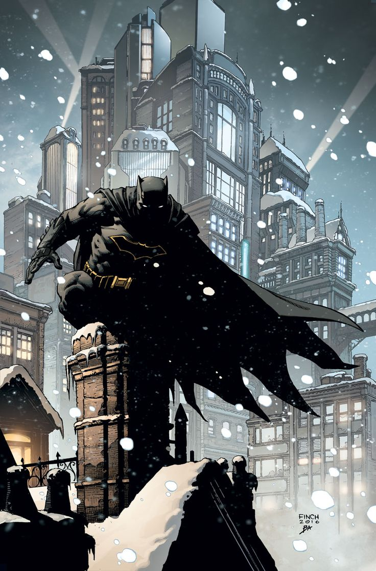 "deadlyhandsofcomics: "" Batman Annual #1 • Tom King, Scott Snyder, Paul Dini, Steve Orlando, & Scott Wilson (w) • David Finch, Riley Rossmo, Neal Adams, & others (a) |Cover by David Finch| """