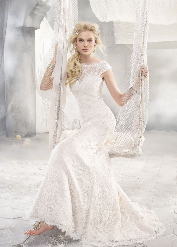 Bridal Gowns, Wedding Dresses by Alvina Valenta - Style AV9258
