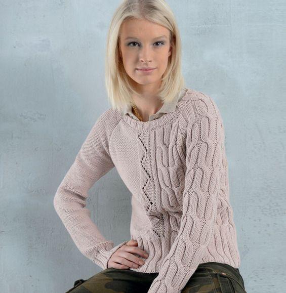 Les 186 meilleures images du tableau pulls irlandais sur pinterest mod les de tricot pull - Point fantaisie tricot phildar ...
