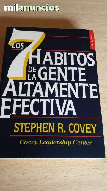 Vendo libro Los 7 hábitos de la gente altamente efectiva. de Stephen Covey. Anuncio y más fotos aquí: http://www.milanuncios.com/libros/los-7-habitos-151234438.htm