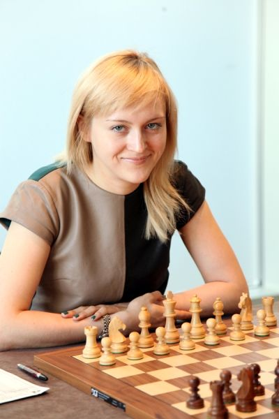 Women's World Chess Championship Match 2013 between the current World Champion Anna Ushenina of Ukraine and her challenger, Hou Yifan of China (former World Champion 2010-2012), is scheduled to start on 10 of September in the Taizhou Hotel (Taizhou, China). On the photo women's World Chess Champion Anna Ushenina. The official website: taizhou2013.fide.com