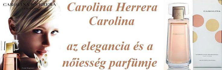 Carolina Herrera Carolina női parfüm ritkaság  Carolina Herrera Carolina -ja elegancia és a nőiesség parfümje  http://www.parfumdivat.hu/parfum-ritkasagok/carolina-herrera-carolina-noi-parfum.html