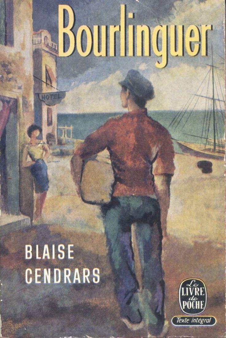 Signature illisible - Blaise Cendrars, Bourlinguer Le Livre de Poche n° 437/438, 1959 broché illustré