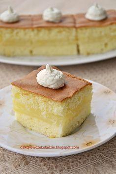 Ciasto cytrynowe z masą kisielową