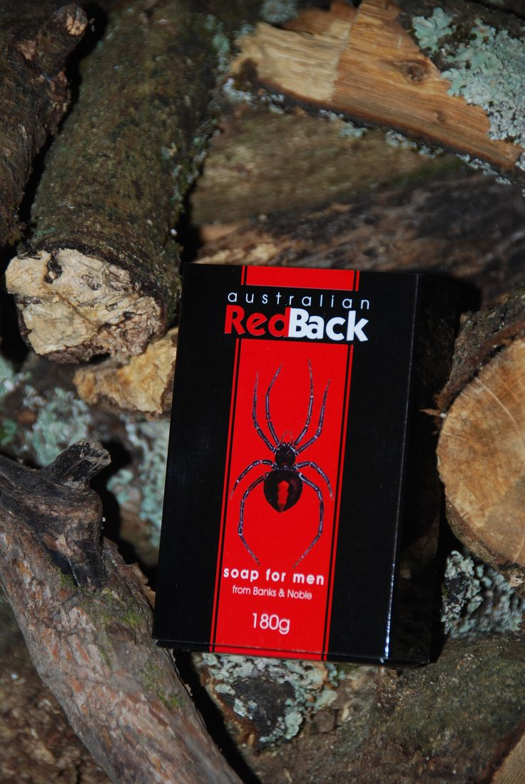 Bright red Redback soap for blokes. Foamy red goodness for your favourite bloke. #AustralianMade #redsoap #soapformen #giftsforhim #giftsformen #fathersday