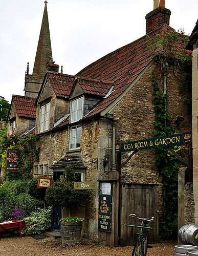 King John's Hunting Lodge Tea House  –  Lacock, Wiltshire, UK