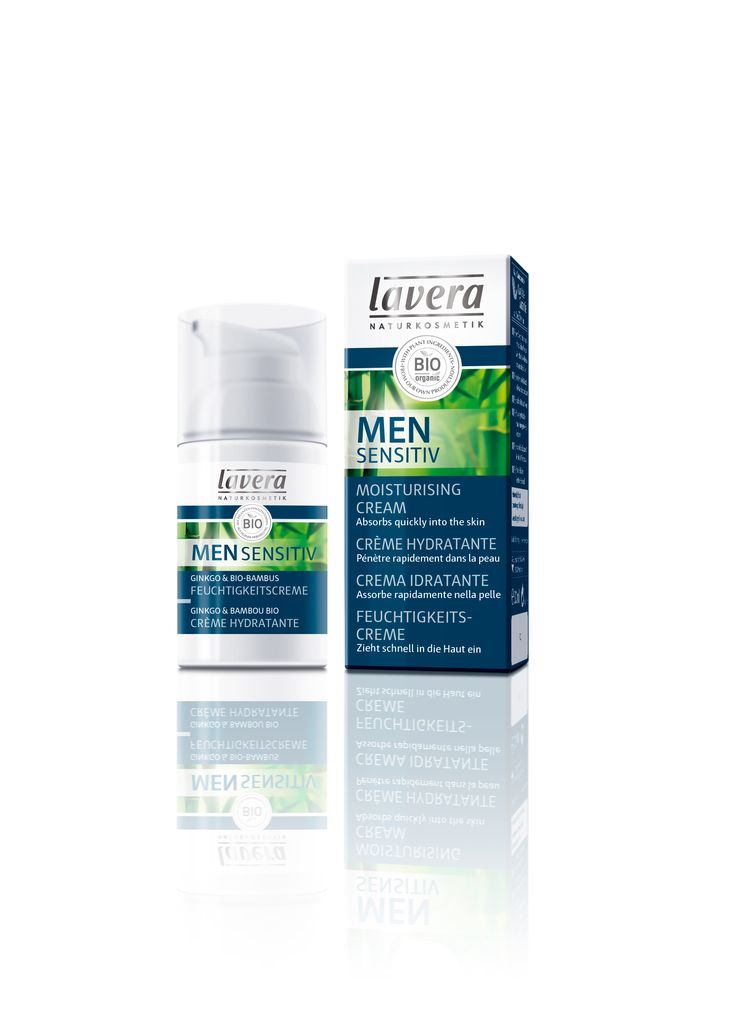 NEW Men Sensitiv Range from Lavera. Men Sensitiv Moisturising Cream will care and protect male skin, giving moisture where needed. Has a refreshing zesty scent to keep any man revived throughout the day. Can be used daily. View the full range at www.lavera.co.uk
