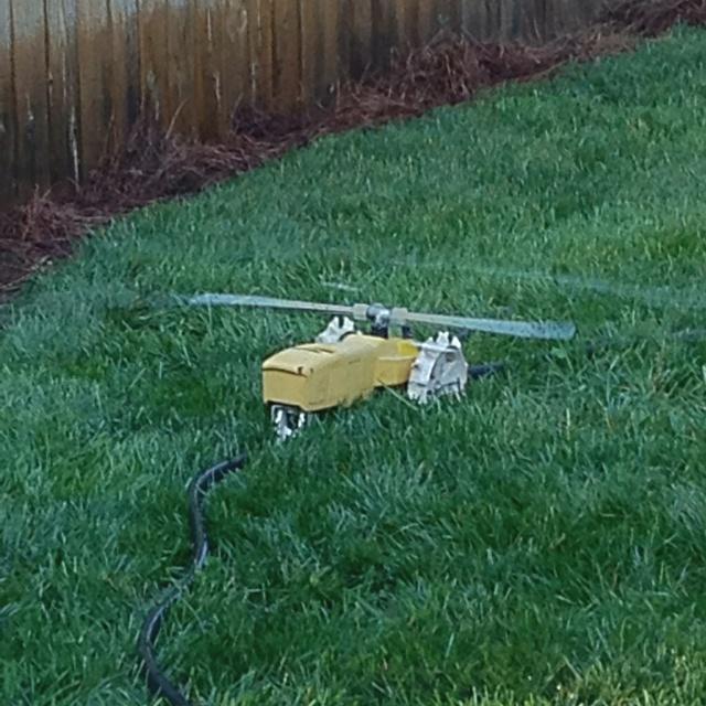 Tractor sprinkler. Efff yeah!!