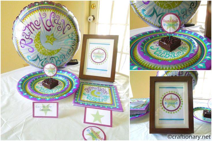 Ramadan Mubarak Party Collection plus free printables