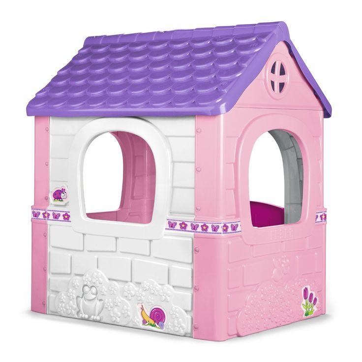 17 mejores im genes sobre casitas de juguete de pl stico for Casita exterior infantil