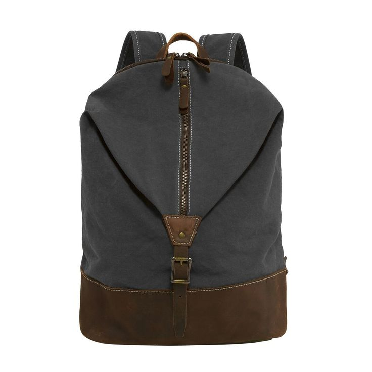 Canvas Backpack Gray