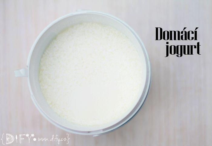 Domácí jogurt je SNADNÝ! (a lahodný:))