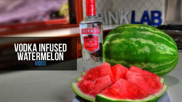 Australia Day - Vodka infused Watermelon