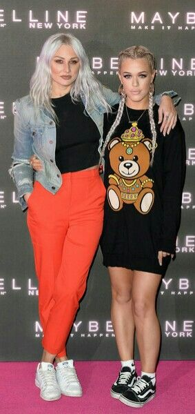 Luo Teasdale and Lottie Tomlinson