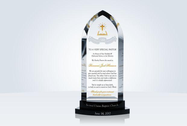 Pastor Anniversary Gift #PastorGift #ChristianGift #CrytalCentral #Pastor #Anniversary #Appreciation
