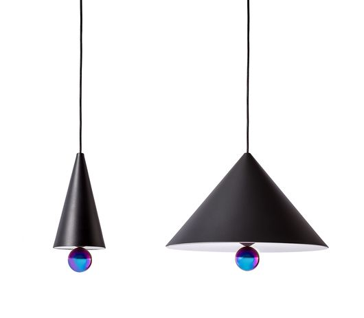 Cool hanging lights! #furniturehunters cherry_noir_grande-petite