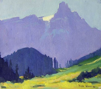 UNTITLED; MOUNTAIN PEAK;  - PETER WHYTE, 1929