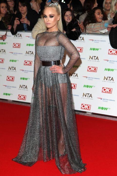 Jorgie Porter at the National Television Awards 2016