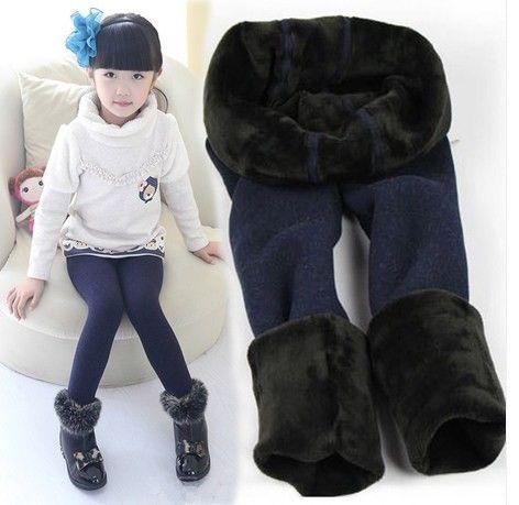 >> Click to Buy << New 2015 Winter fur girls leggings children pants children warm thick elastic waist leggings pants girl #Affiliate