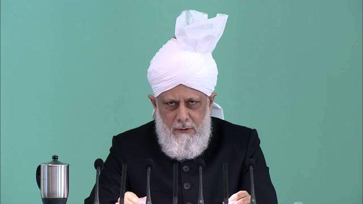 HUTBE İbadet, öfke yönetimi ve bağışlama Cuma Hutbesi 10-10-2014 - Islam Ahmadiyya