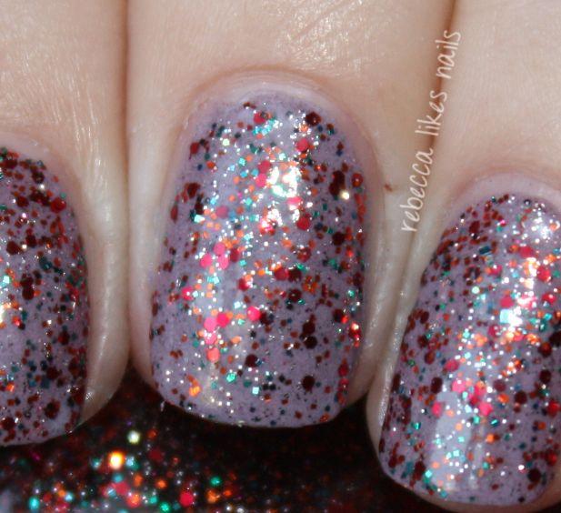 Shimmer Polish Alessandra Rebecca Likes Nails