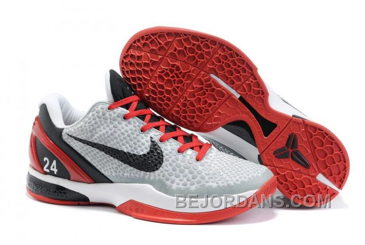 http://www.bejordans.com/60off-big-discount-nike-zoom-kobe-vi-playoffs-red-gray-black-nzh0572.html 60%OFF! BIG DISCOUNT! NIKE ZOOM KOBE VI PLAYOFFS RED GRAY BLACK NZH0572 Only $79.00 , Free Shipping!