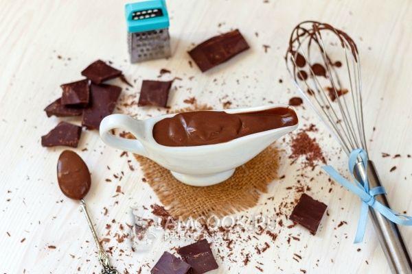 Готовый шоколадный заварной крем