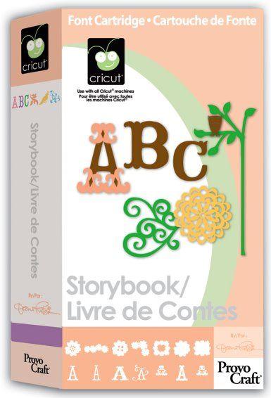 Storybook Cricut Cartridge