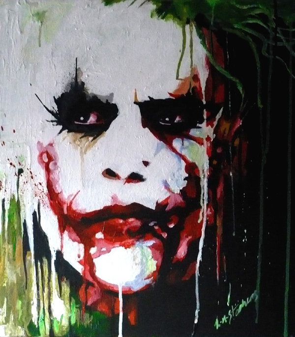 "The Joker ""Sanity Melts"" by sullen-skrewt.deviantart.com on @deviantART"
