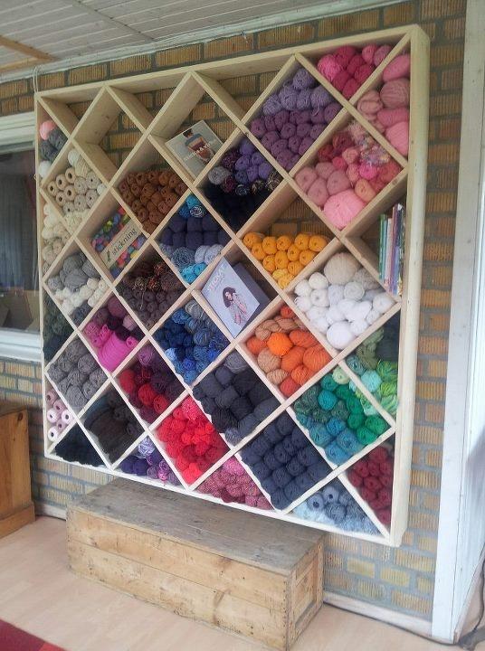 Knitting Wool Storage Ideas : Yarn storage ulrika griffin crochet crafty corner