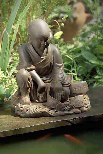 U0027May All Beings Be Freeu0027 Garden Monk Statue, #DharmaCrafts Meditation  Supplies #