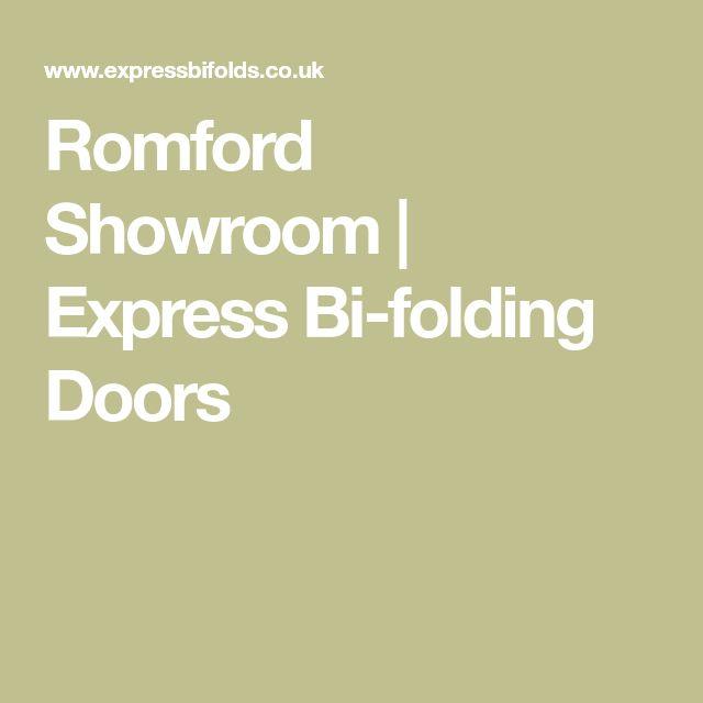Romford Showroom | Express Bi-folding Doors
