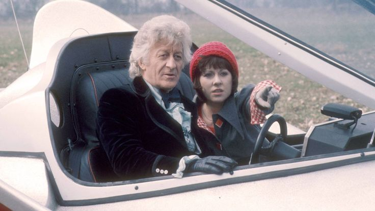 The Third Doctor and Sarah Jane