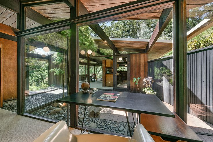 Mid Century Home by Roger Lee http://plastolux.com/mid-century-home-roger-lee.html
