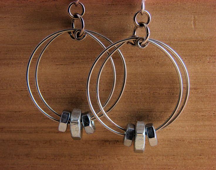 Best 25+ Hardware jewelry ideas on Pinterest   DIY hex nut ...