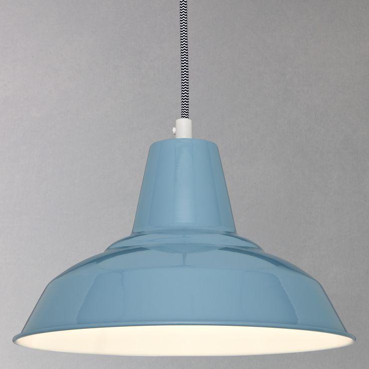 John Lewis Penelope Ceiling Light, Slate