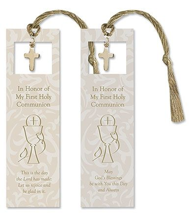 First Communion Bookmark