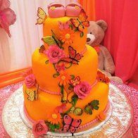 'butterfly' cakes, cupcakes and cookies @ CakesDecor.com - cake decorating website