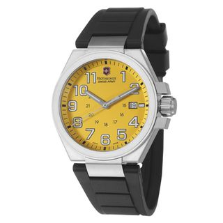Victorinox Swiss Army Men's 'Active Convoy' Stainless Steel Military Time Watch | Overstock.com Shopping - The Best Deals on Swiss Army Men's Watches