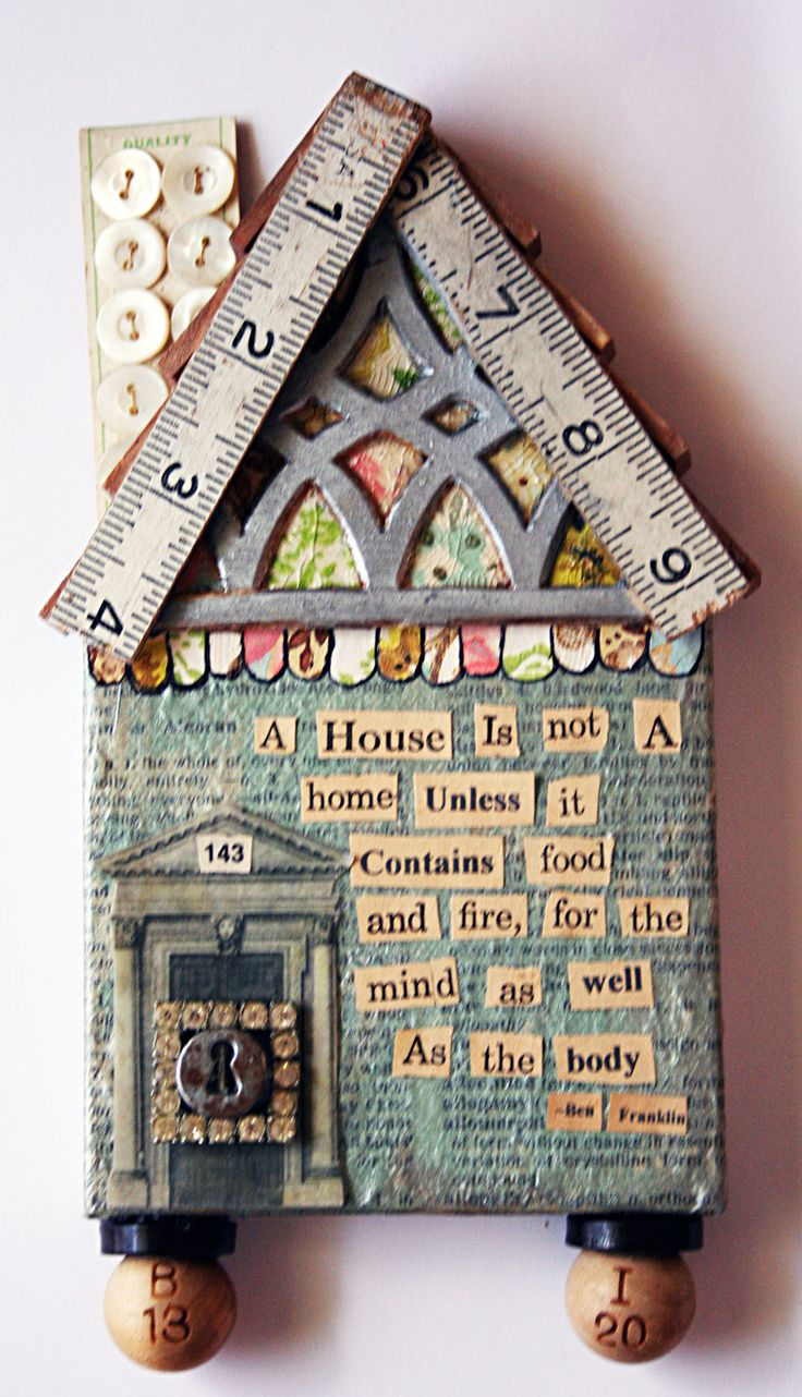 mixed media LOVE - this is something I would adore making