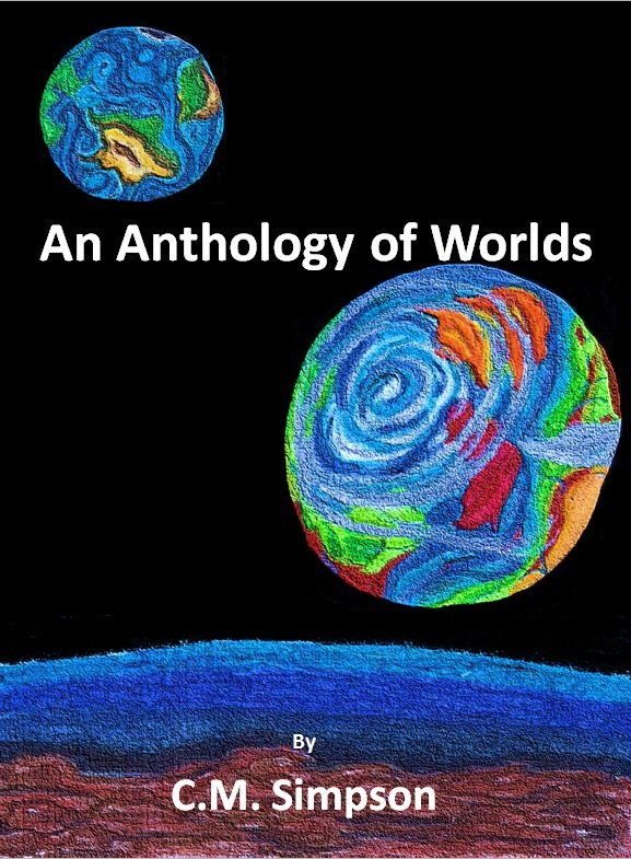 Step 42: Final cover for Anthology of Worlds.