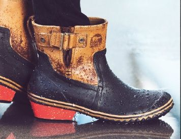 The Coolest Pair of Sorel Duck Boots