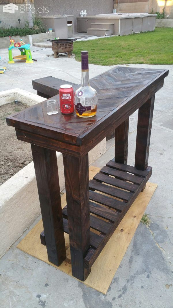 Entry Table Furniture best 20+ pallet entry table ideas on pinterest | diy sofa table
