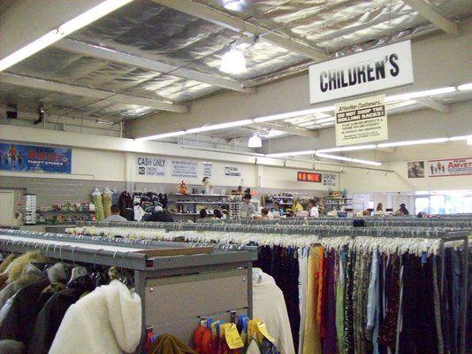 Amvets Thrift Store-LB