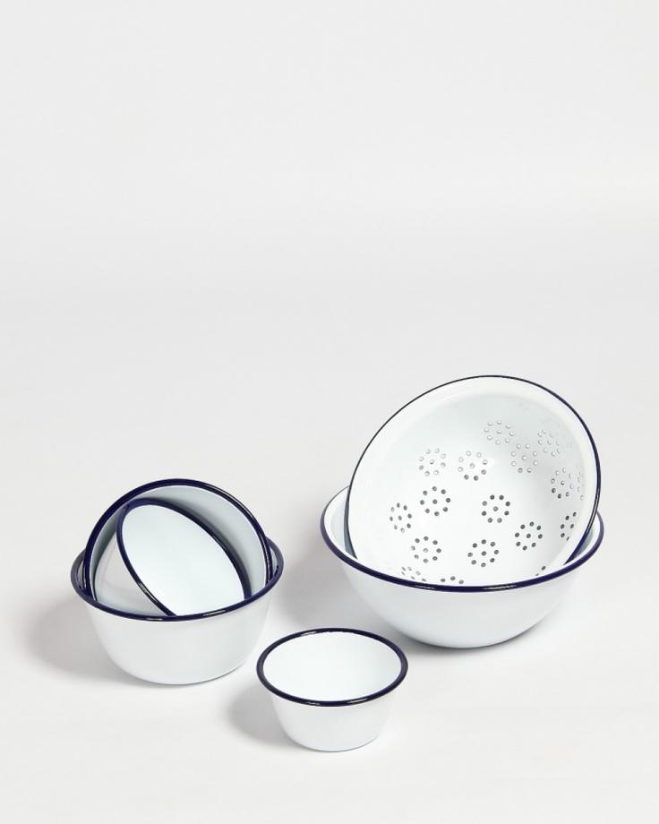 Falcon Enamel Prep Set: Enamelware Prep, Gift, Craft, Enamelware Set, Kitchenware