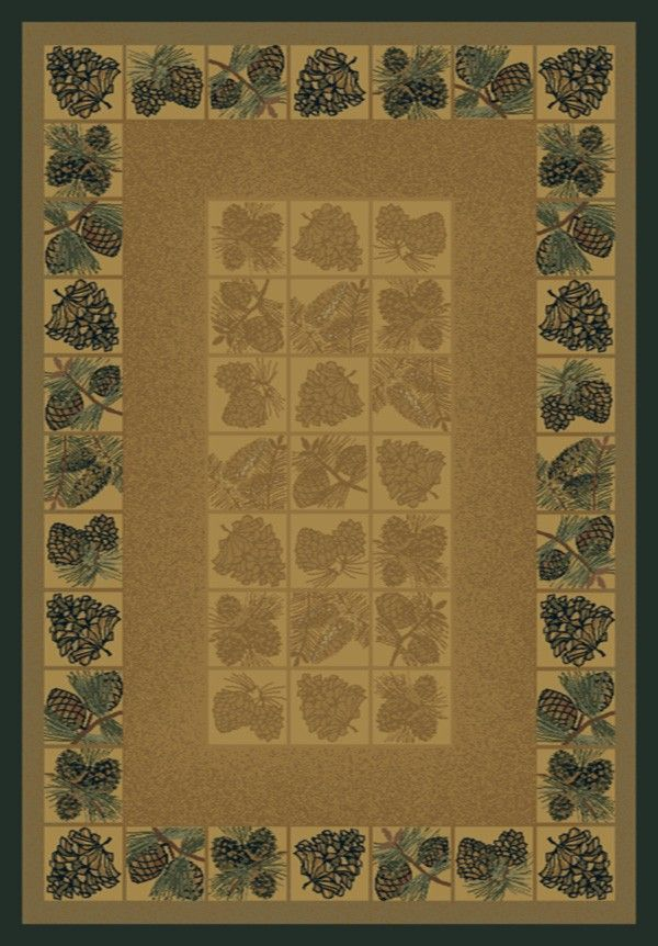 Genesis Sephora Gold Area Rug - 5 Sizes Available