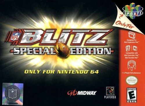 Complete NFL Blitz Special Edition 64 - N64