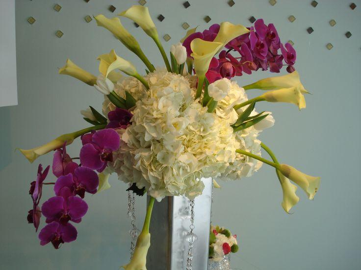 Tropical tall arrangement