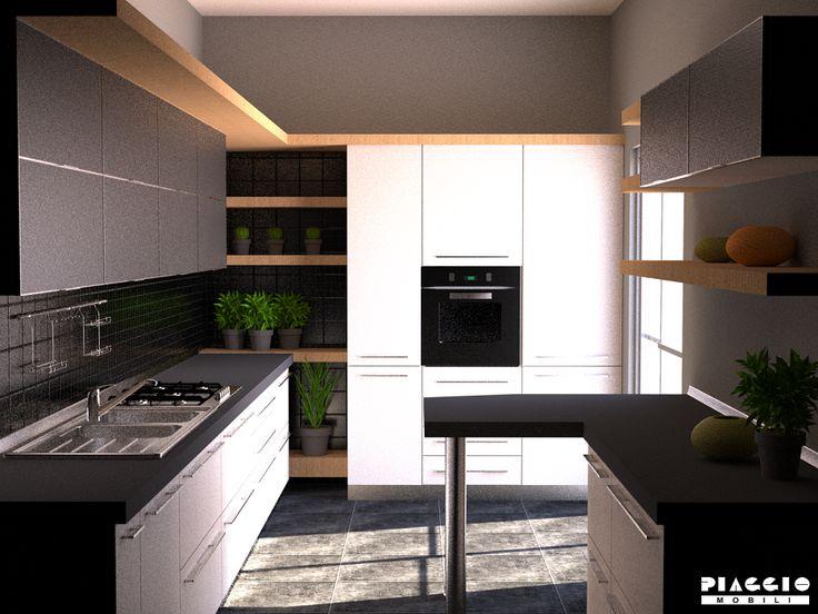 Oltre 25 fantastiche idee su Disegni per cucine piccole su ...