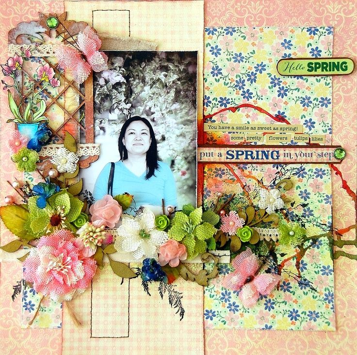 Spring with Authentique and Petaloo